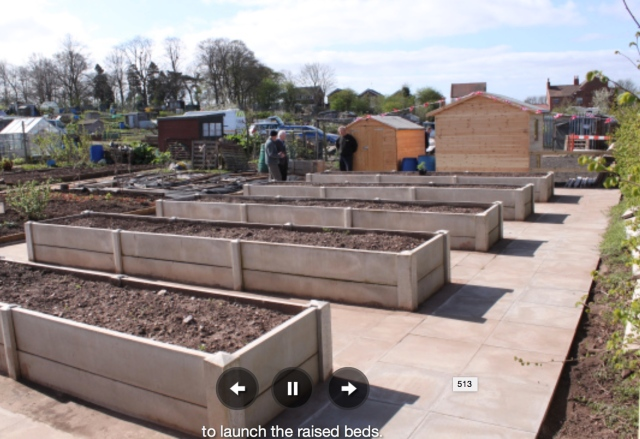 Click the image for Cheslyn Hey Community Allotments website