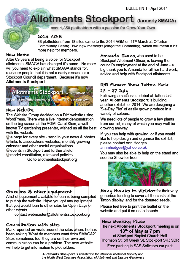 Allotments Stockport Bulletin 1 - april 201431.47