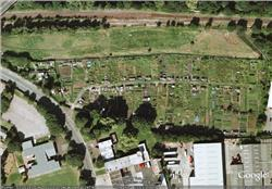 Birds Eye View of the site