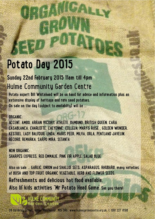 HCGC Spud Day poster 2015