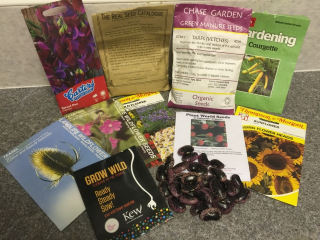 Come to the seed swap on Tuesday 10th March at 8pm after the AGM